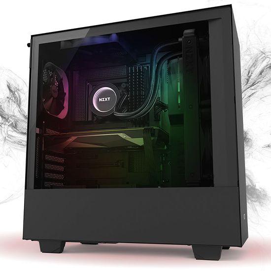 Føniks Valkyrie II Færdigsamlet Gamer Computer - Intel i5 9600K - Vandkøling - 16GB DDR4 - Nvidia RTX 2070 8GB - 250GB NVMe SSD + 2TB HDD - Windows 10 - RGB