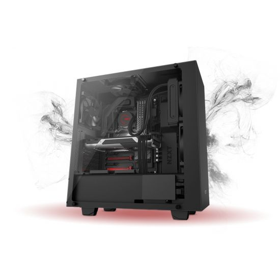 Føniks Valkyrie II Færdigsamlet Gamer Computer - Intel i5 8600K - Vandkøling - 16GB DDR4 - Nvidia GTX 1070 8GB - 250GB NVMe SSD + 2TB HDD - Windows 10