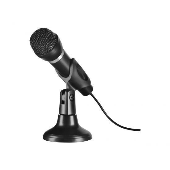 SPEEDLINK SL-8703-BK CAPO Desk & Hand Microphone - mikrofon