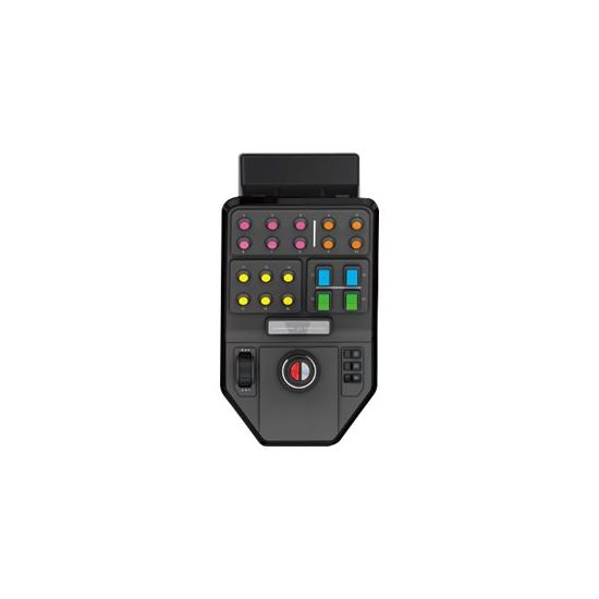 Logitech Heavy Equipment Side Panel - flight simulator controller - kabling