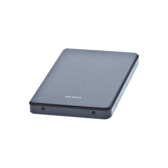 Deltaco MAP-HL40U3 - lagringspakning - SATA 3Gb/s - USB 3.0