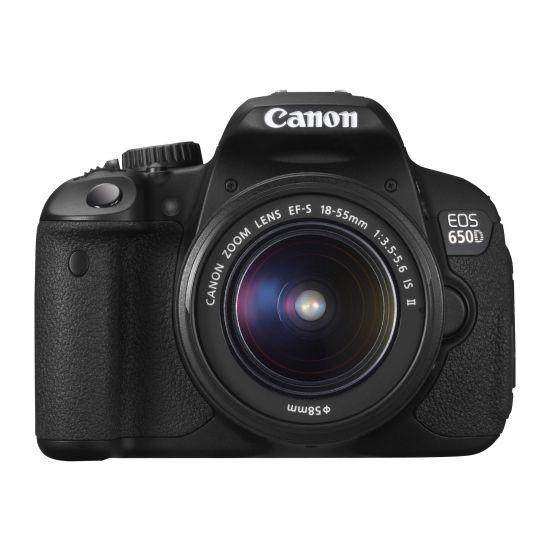 Canon EOS 650D - digitalkamera - kun kamerahus