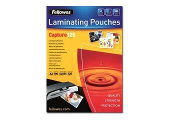 Fellowes Laminating Pouches Capture 125 micron