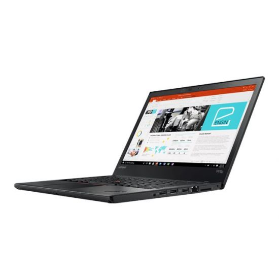 "Lenovo ThinkPad T470p 20J6 - Intel Core i7 (7. Gen) 7700HQ / 2.8 GHz - 8 GB DDR4 - 256 GB SSD - (M.2) PCIe - TCG Opal Encryption 2, NVM Express (NVMe) - NVIDIA GeForce 940MX / Intel HD Graphics 630 - 14"" IPS"