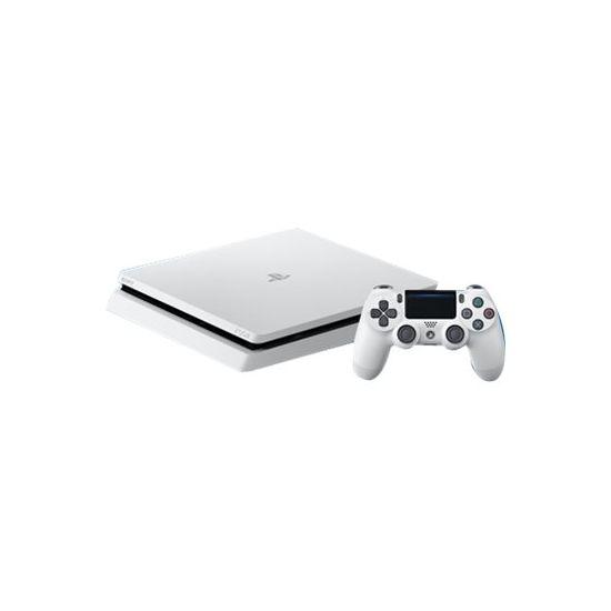 Sony PlayStation 4 - Spilkonsol - 500 GB HDD - Glacier White