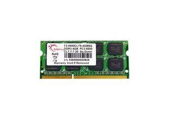G.Skill SQ Series &#45 4GB &#45 DDR3 &#45 1066MHz &#45 SO DIMM 204-PIN