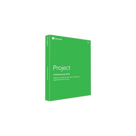Microsoft Project Professional 2016 - bokspakke - 1 PC