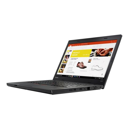 "Lenovo ThinkPad L470 20J4 - Intel Core i5 (7. Gen) 7200U / 2.5 GHz - 8 GB DDR4 - 256 GB SSD - (2.5"" (7 mm)) SATA 6Gb/s - TCG Opal Encryption 2 - Intel HD Graphics 620 - 14"" IPS"
