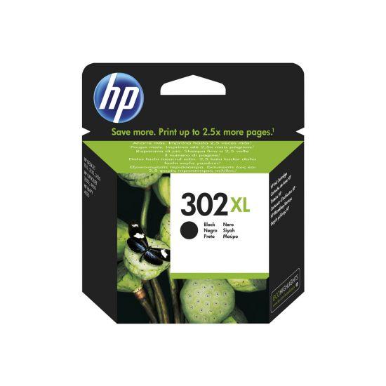 HP 302XL - Højtydende - sort - original - blækpatron