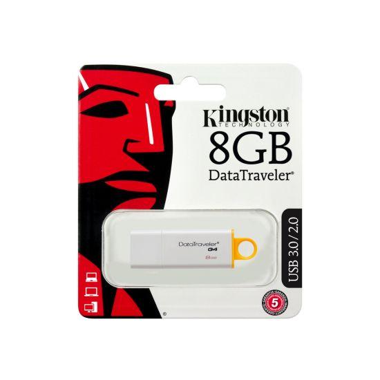 Kingston DataTraveler G4 - USB flashdrive - 8 GB