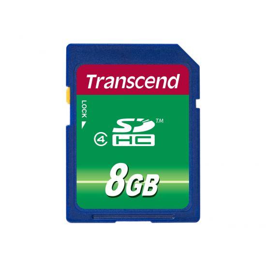 Transcend - flashhukommelseskort - 8 GB - SDHC