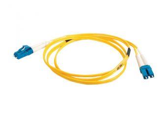 C2G LC-LC 9/125 OS1 Duplex Singlemode PVC Fiber Optic Cable (LSZH)