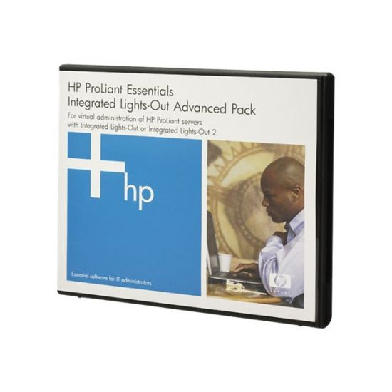 HPE Integrated Lights-Out Advanced - licens + 1 år 24x7 support - 1 server