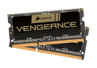 Corsair Vengeance &#45 8GB: 2x4GB &#45 DDR3 &#45 1600MHz &#45 SO DIMM 204-PIN