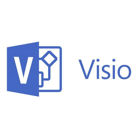 Microsoft Visio Standard 2016 - licens - 1 PC