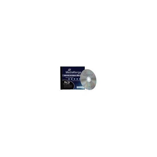 MediaRange - BD-R DL x 1 - 50 GB - lagringsmedie