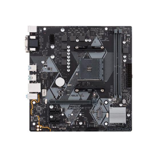 ASUS PRIME B450M-K - bundkort - micro-ATX - Socket AM4 - AMD B450