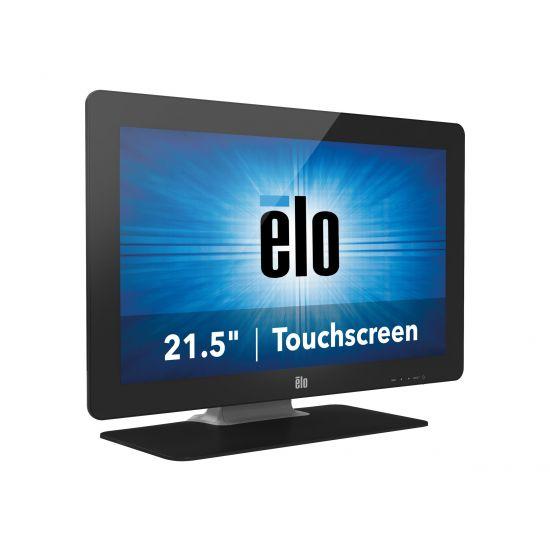"Elo Desktop Touchmonitors 2201L IntelliTouch Plus &#45 LED-Skærm 22"" 5ms - Full HD 1920x1080 ved 60Hz"