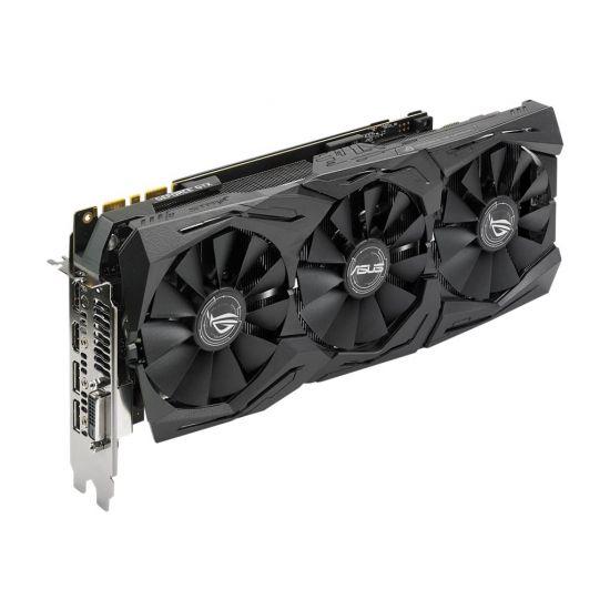 ASUS ROG-STRIX-GTX1080TI-11G-GAMING &#45 NVIDIA GTX1080Ti &#45 11GB GDDR5X - PCI Express 3.0 x16