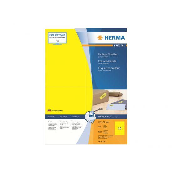 HERMA Special - etiketter - 1600 etikette(r) - 105 x 37 mm