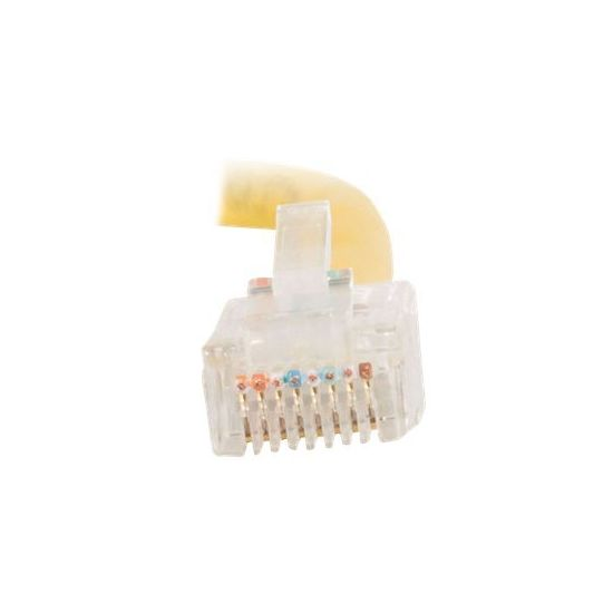 C2G Cat5e Non-Booted Unshielded (UTP) Network Crossover Patch Cable - krydskabel - 1 m - gul