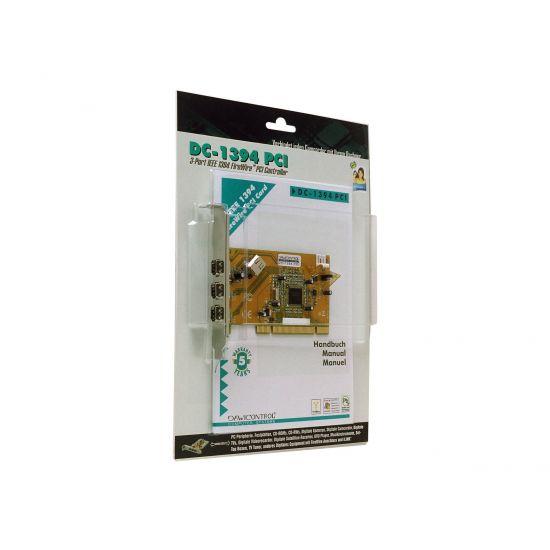 Dawicontrol DC-1394 PCI - videooptagelsesadapter - PCI