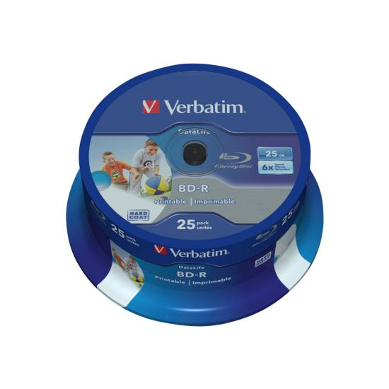 Verbatim DataLife - BD-R x 25 - 25 GB - lagringsmedie