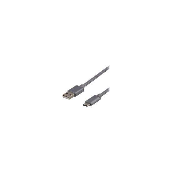 DELTACO USBC-1140 - USB Type-C kabel - 2 m