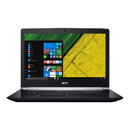 Acer Aspire V 17 Nitro VN7-793G-75ST - 8GB Core i7 7700HQ 256GB SSD + 1TB HDD GTX1050Ti 4GB 17.3´´ Full-HD IPS Gamer bærbar