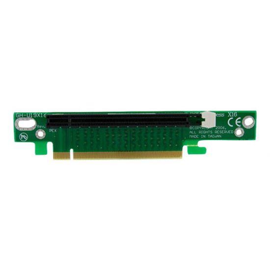 StarTech.com PCI Express Riser Card x16 Left Slot Adapter 1U/2U Servers - udvidelseskort