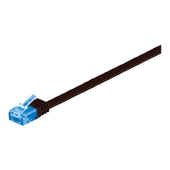 MicroConnect netværkskabel - 15 m - mørkebrun