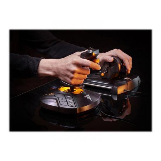 ThrustMaster T.16000M FCS Flight Pack - joystick, speeder og pedaler - kabling