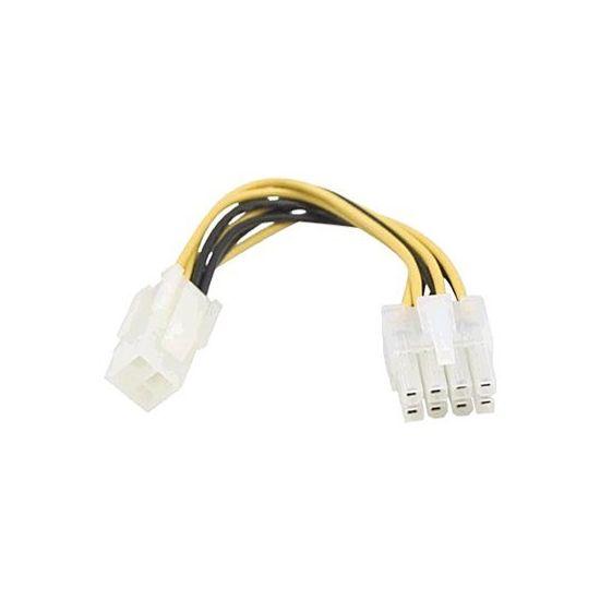 DELTACO strømforsyningsadapter 10 cm