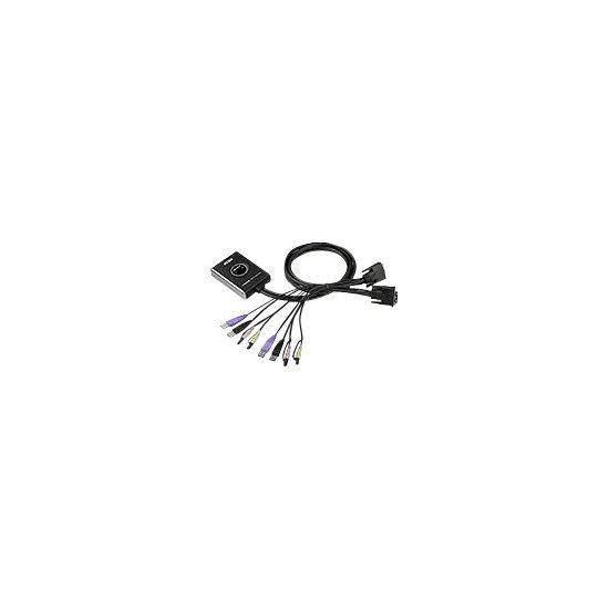 ATEN CS682 - KVM / audio / USB switch - 2 porte
