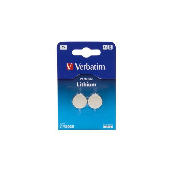 Verbatim batteri - CR2025 - Li x 2