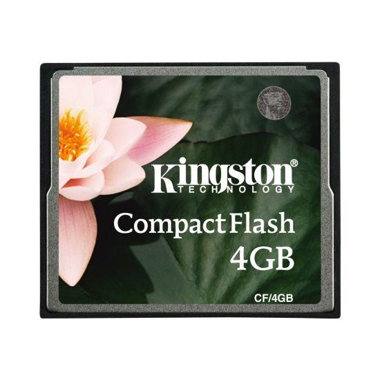 Kingston - flashhukommelseskort - 4 GB - CompactFlash