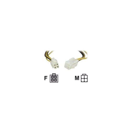 DELTACO 24-pin ATX forlængerkabel til strøm 0,30 m