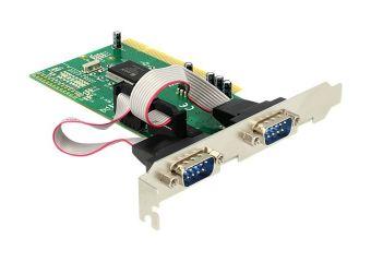 DeLock PCI Card 2x Serial