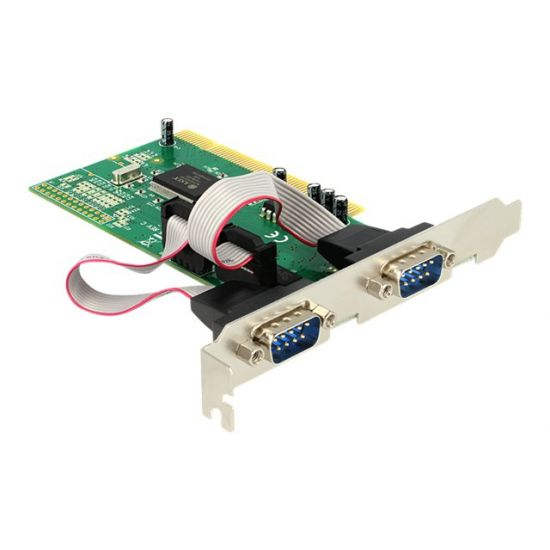 DeLock PCI Card 2x Serial - seriel adapter