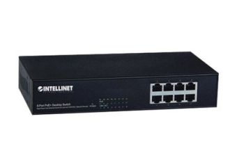 Intellinet 8-Port PoE+ Desktop Switch