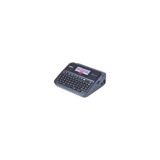 Brother P-Touch PT-D600VP - etikettemaskine - monokrom - termo transfer