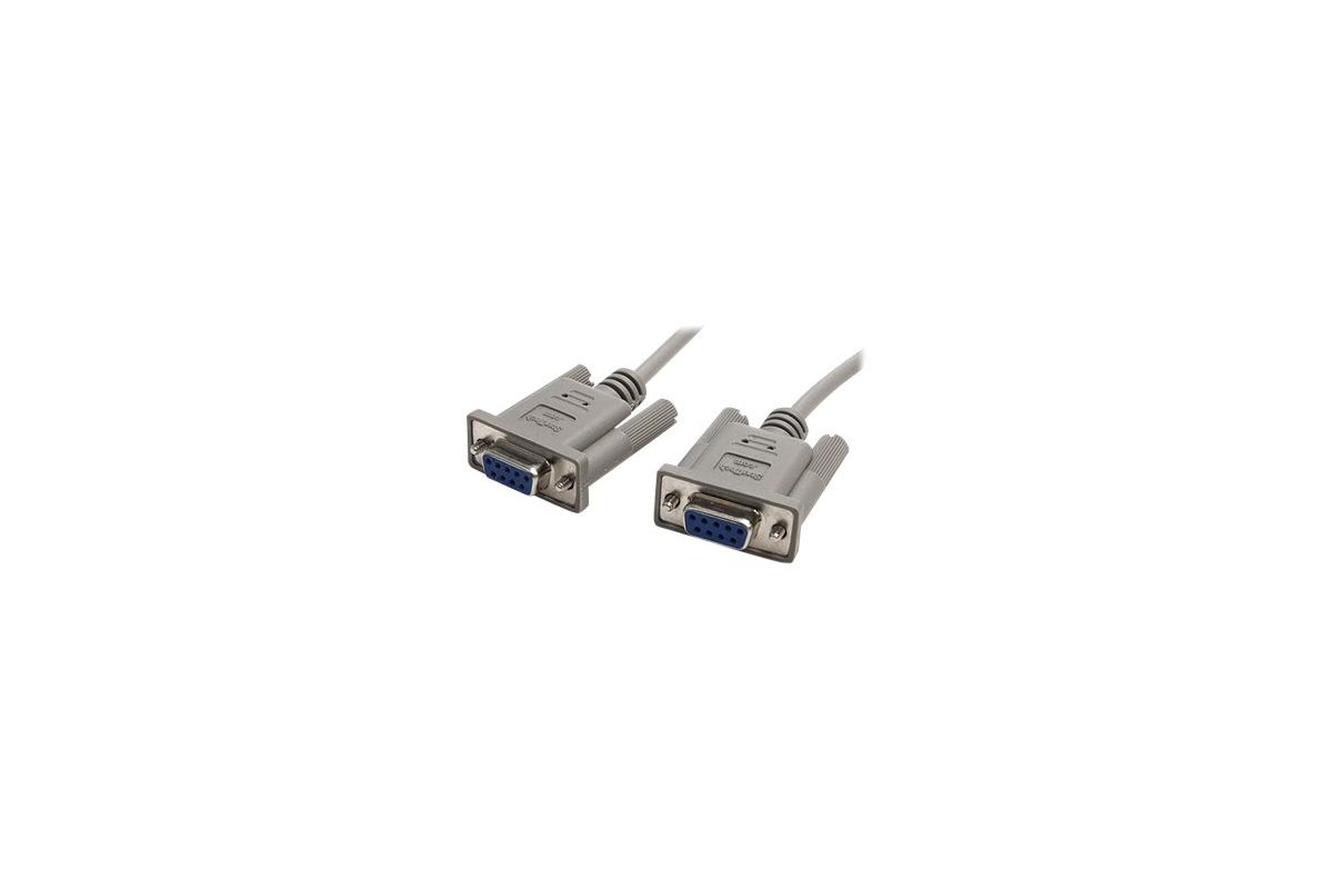 StarTech.com 10' RS232 Serial Null Modem Cable