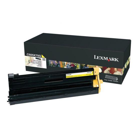 Lexmark - gul - original - printer-billedenhed - LCCP