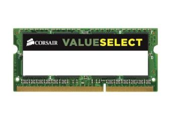 Corsair Value Select &#45 8GB &#45 DDR3 &#45 1600MHz &#45 SO DIMM 204-PIN