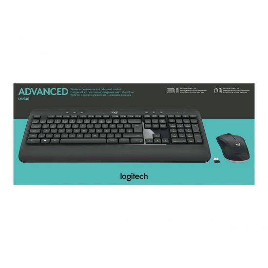 Logitech MK540 Advanced - tastatur og mus-sæt - Dansk/Finsk/Norsk/Svensk