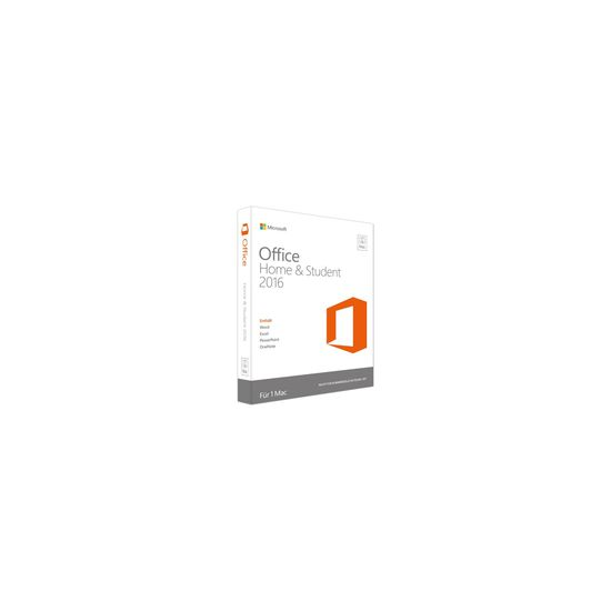 Microsoft Office for Mac Home and Student 2016 - bokspakke - 1 licens