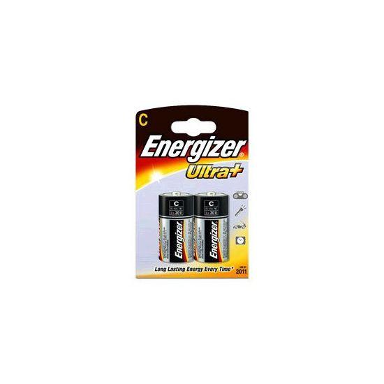 Energizer Ultra+ - Batteri 2x C