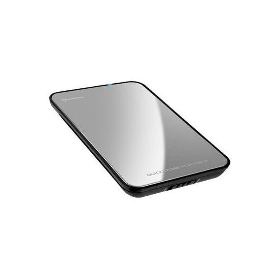 Sharkoon Quickstore Portable - lagringspakning - SATA 3Gb/s - USB 3.0