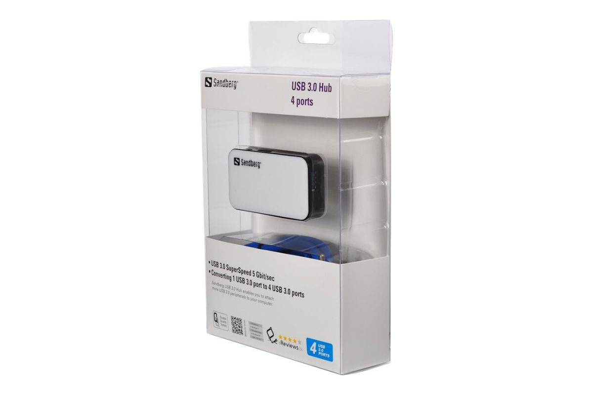 Sandberg USB 3.0 Hub 4 ports