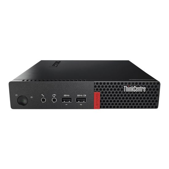 Lenovo ThinkCentre M710q - lille skrivebord - Core i5 7400T 2.4 GHz - 8 GB - 256 GB - Nordisk